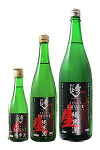 秋田 地酒 秀よし 鈴木酒造 純米しぼりたて生酒 12月~3月