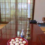秋田の地酒秀よし-山の神様と餅つき5